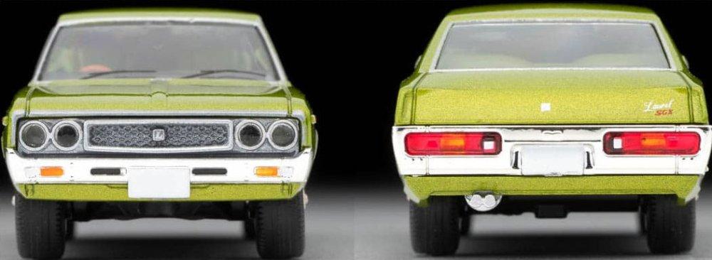 Tomica-Limited-Vintage-Neo-Nissan-Laurel-Hardtop-2000SGX-Vert-005
