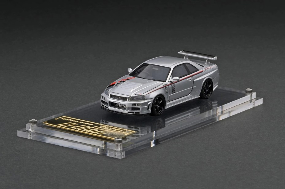 Ignition-Model-Resin-Nismo-R34-GT-R-R-tune-Silver-001