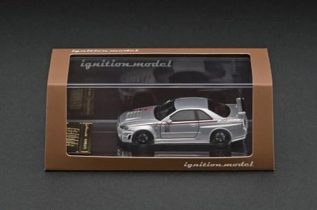 Ignition-Model-Resin-Nismo-R34-GT-R-R-tune-Silver-003