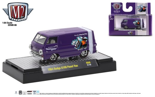 M2-Machines-Auto-Thentics-66-1964-Dodge-A100-Panel-Van-Auto-Trucks
