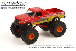 GreenLight-Collectibles-Kings-of-Crunch-Series-10-Krimson-Krusher-II-1993-Ford-F-250-Monster-Truck