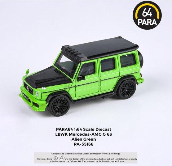 Para64-Mercedes-G63-Liberty-Walk-Alien-Green-001