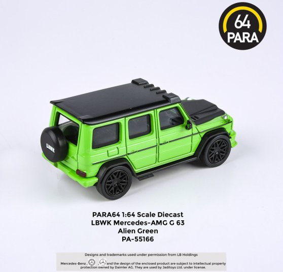 Para64-Mercedes-G63-Liberty-Walk-Alien-Green-002