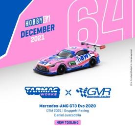 Tarmac-Works-Mercedes-AMG-GT3-Evo-2020-DTM-2021-GruppeM-Racing-Daniel-Juncadella