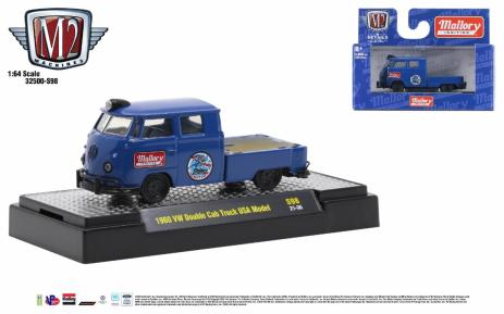 M2-Machines-32500-Release-S98-1960-VW-Double-Cab-Truck-USA-Model