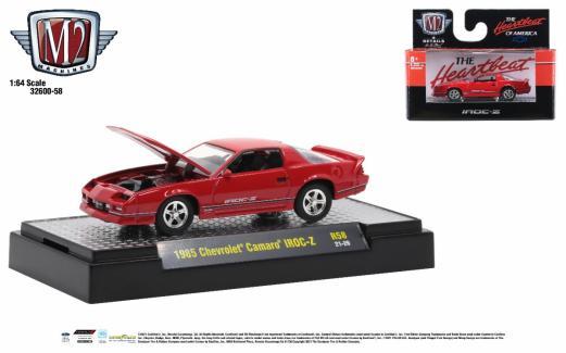 M2-Machines-Detroit-Muscle-Release-58-1985-Chevrolet-Camaro-IROC-Z