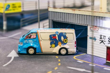 Tarmac-Works-Toyota-Hiace-Widebody-Mr-Men-Little-Miss-50th-Anniversary-002