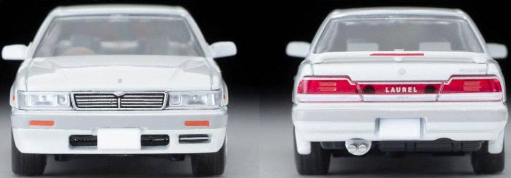 Tomica-Limited-Vintage-Neo-Nissan-Laurel-2500-Twincam24V-Medalist-V-1992-White-004