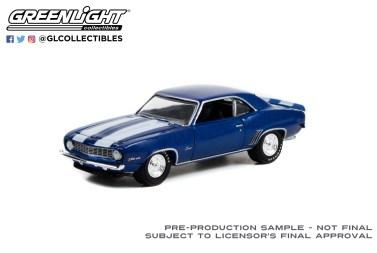 GreenLight-Collectibles-Barrett-Jackson-Series-9-1969-Chevrolet-Camaro-Z28