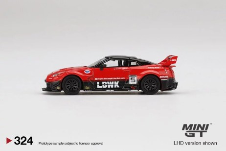 Mini-GT-LB-Silhouette-Works-GT-Nissan-35GT-RR-Ver-1-Red-Black-2