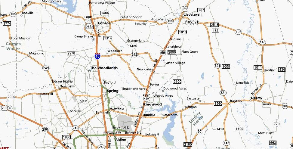 Houston Area Maps Houston Apartment Locators Houston
