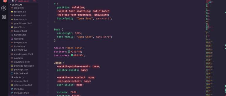 theme vs code