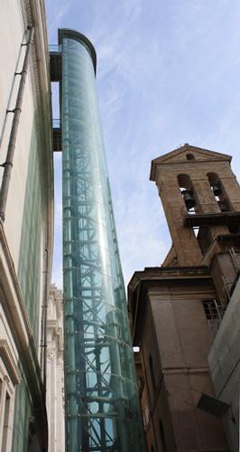 Dach des Monumento Vittorio Emanuele