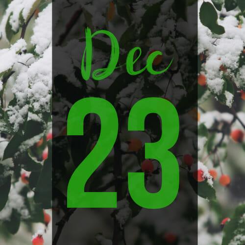 door-23rd December