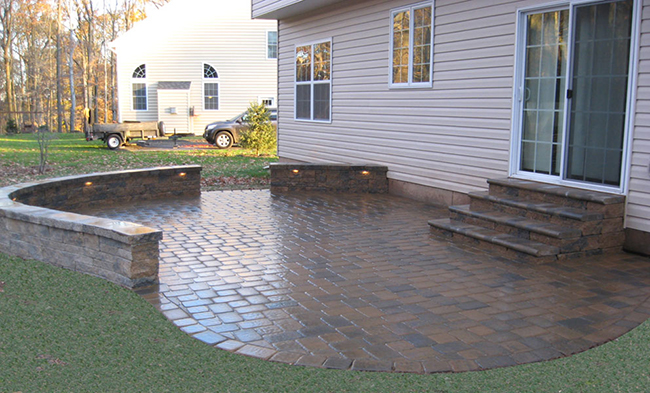 paver patios function and design