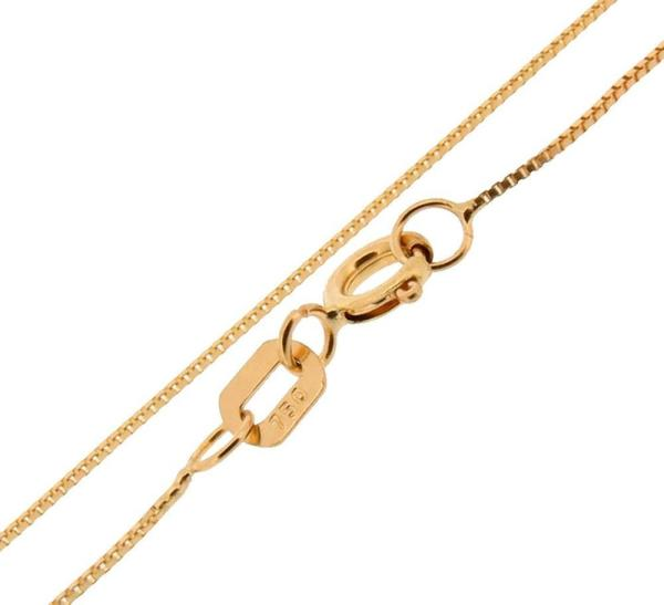 Corrente de Ouro Feminina Veneziana 45cm