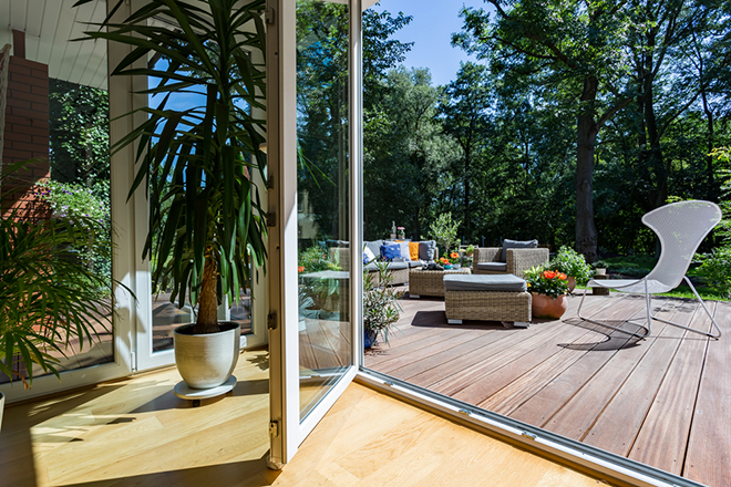 Garden Patio Ideas - 10 Tips to Decorate and Furnish Your ... on Backyard Patio Extension Ideas id=32685