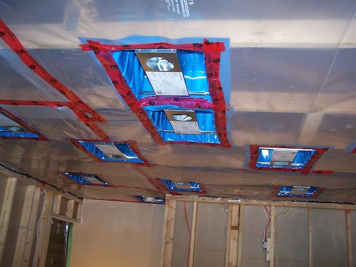 Drywall Moisture Barrier : How to install vapor barrier in garage ceiling