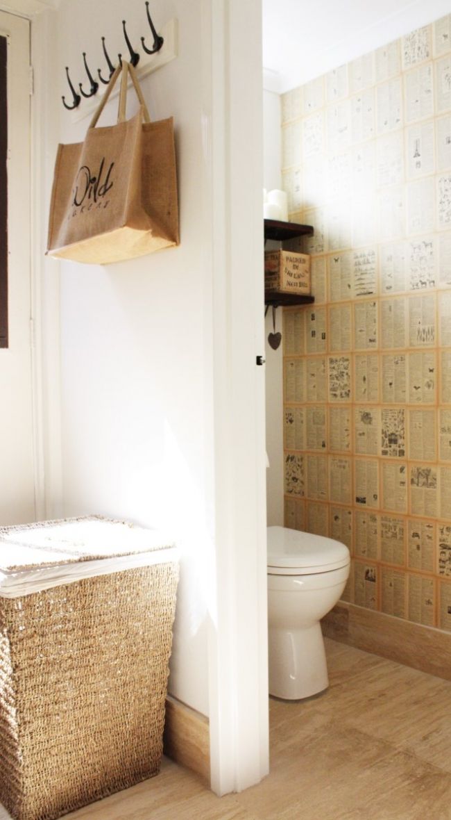 how-to-make-DIY-wallpaper-from-an-old-book-house-nerd-interiors-blog