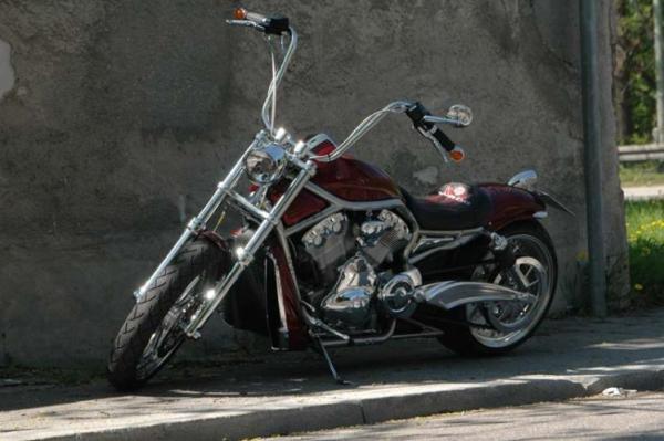 VRod VROD quotApehangerquot Custom Bikes Motorr228der