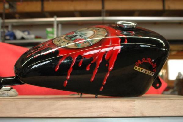 Guns n180 Roses Tank Airbrush Customizing Service