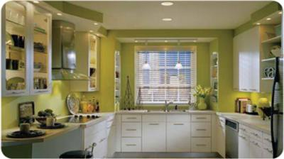Brightly Painted Country Kitchen