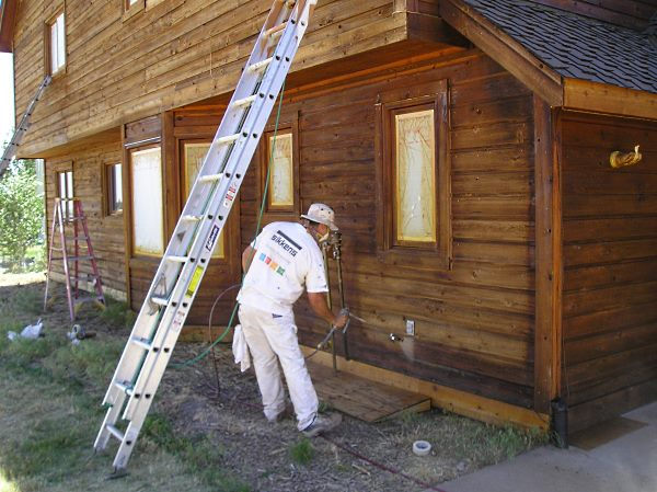 Exterior Wood Stain Choosing The Best For Your Project