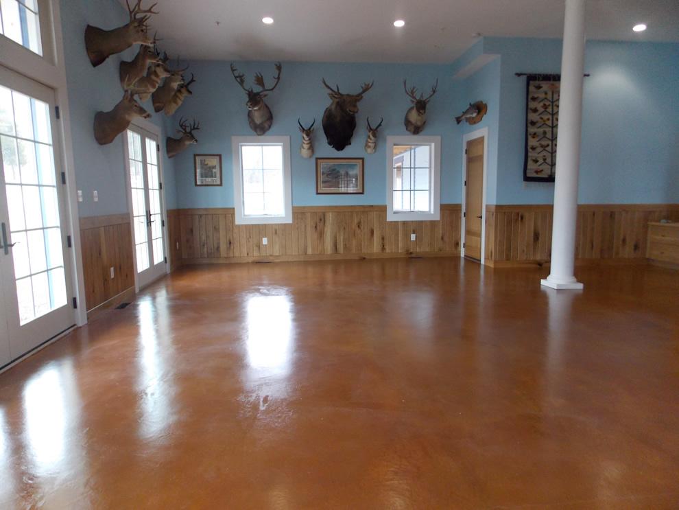 Hardwood Room Floors Painting