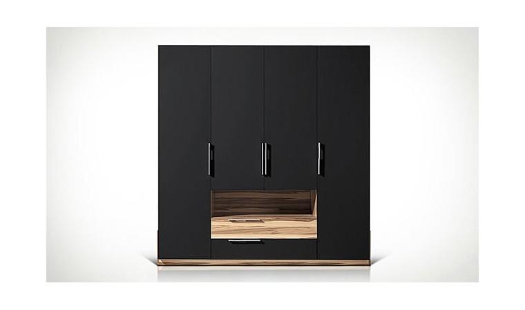 armoire dressing black