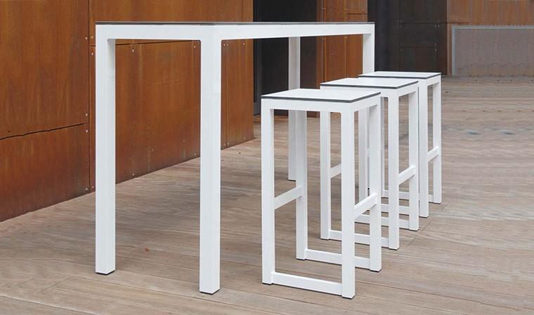 table haute bar de jardin de luxe leuven