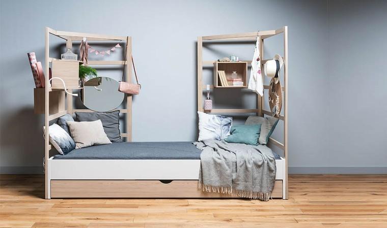 lit enfant avec tiroir rangement stige
