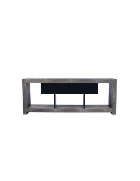 meuble tv design nara effet beton