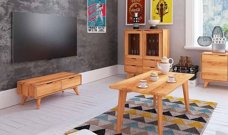 meuble tv scandinave en hetre massif stockholm 1