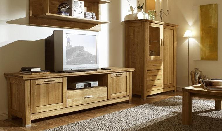 meuble tv en chene massif haut de gamme prix discount