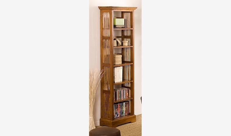 bibliotheque ouverte en teck massif bengale
