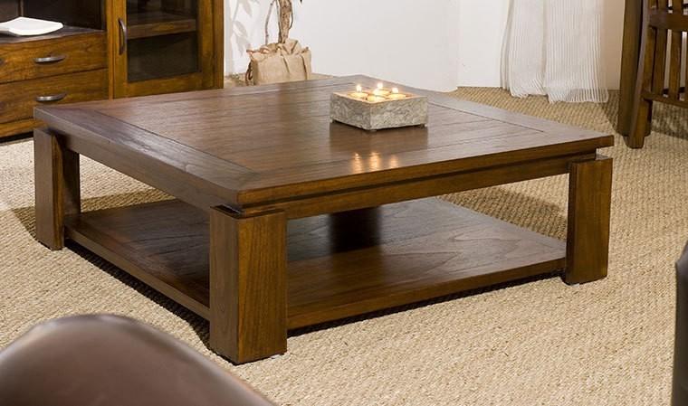 table basse contemporaine carree 90 x 90 cm milo