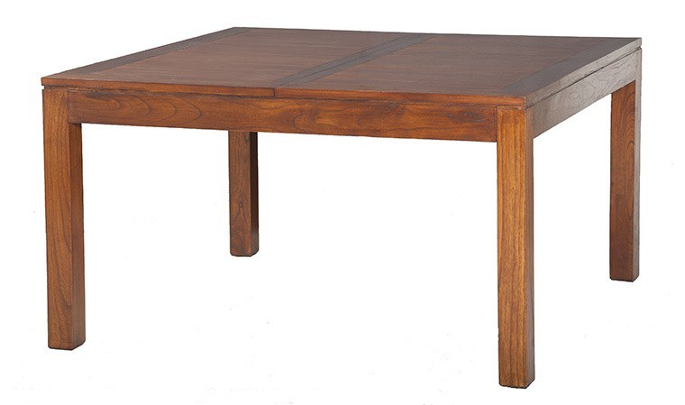table a manger carree extensible en mindi milo