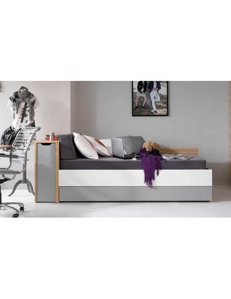 lit canape ado avec coffre de rangement evolve