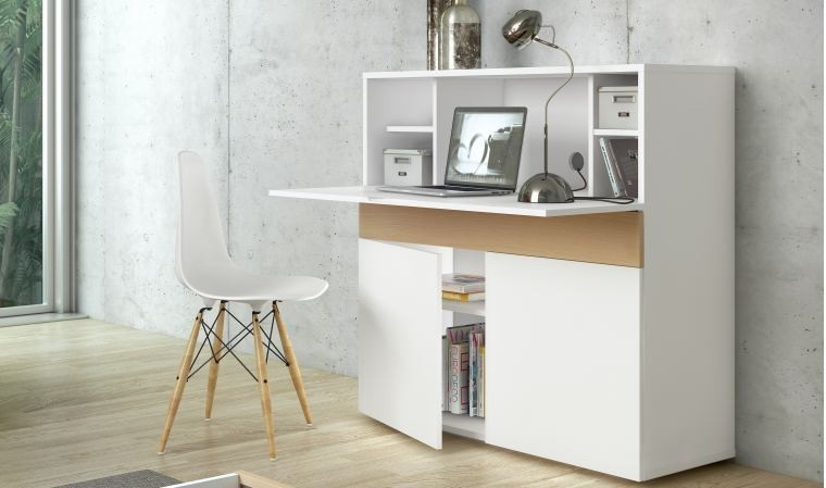 Meuble Secretaire Design Blanc Fabriqu En Europe Focus