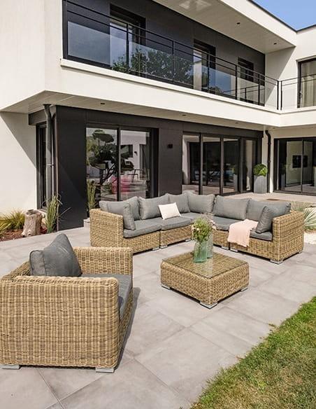 salon bas de jardin design house and