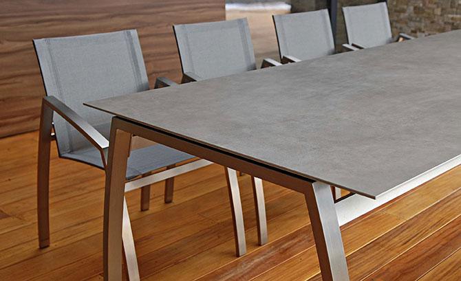 table de jardin design haut de gamme