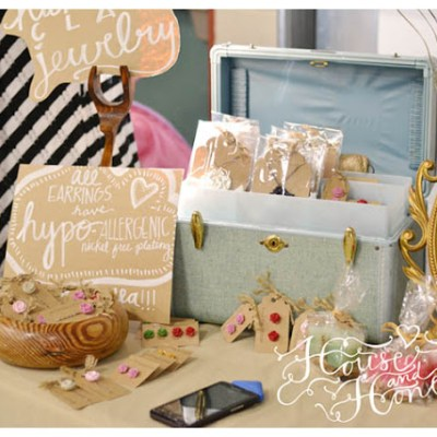 I did a Craft Booth!