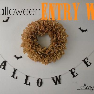 Halloween Entryway!