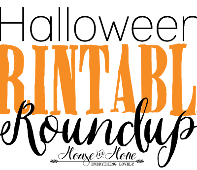 Halloween Printables Roundup!