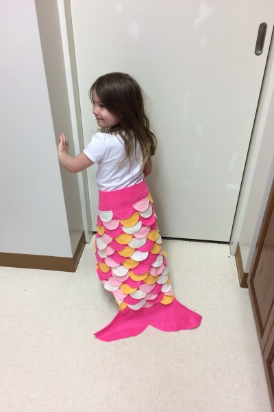 A Mermaid tail for my Princess