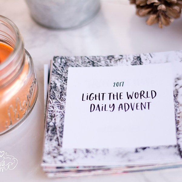 Light the World 2017 Daily Advent