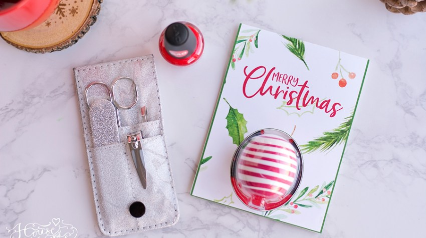 Eos Lip Balm Printable for Christmas