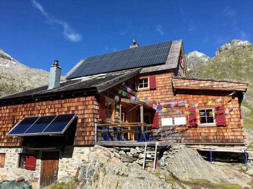Adolf Nossberger Hütte Wiener Höhenweg