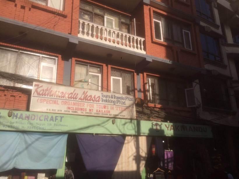 Stadtbild Thamel, Kathmandu