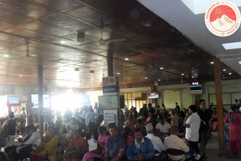 Flughafen Kathmandu